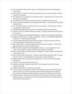 WOW Park 2015 Auction Page 3
